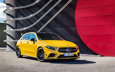 2019 Mercedes-AMG A35 wallpaper thumbnail.