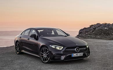 2019 Mercedes-Benz CLS53 AMG wallpaper thumbnail.