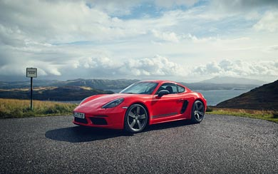 2019 Porsche 718 Cayman T wallpaper thumbnail.