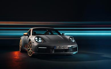 2019 Porsche 911 Carrera 4S wallpaper thumbnail.