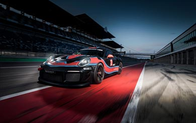 2019 Porsche 911 GT2 RS Clubsport wallpaper thumbnail.