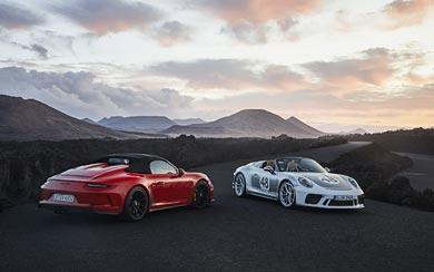 2019 Porsche 911 Speedster wallpaper thumbnail.