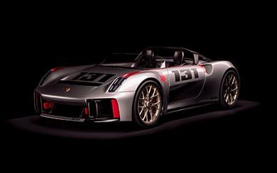 2019 Porsche Vision Spyder Concept wallpaper thumbnail.