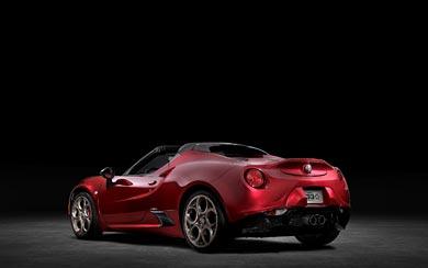 2020 Alfa Romeo 4C Spider 33 Stradale Tributo wallpaper thumbnail.