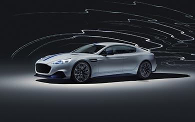 2020 Aston Martin Rapide E wallpaper thumbnail.