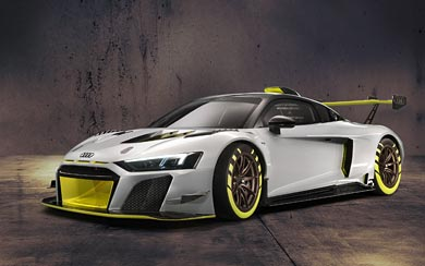 2020 Audi R8 LMS GT2 wallpaper thumbnail.