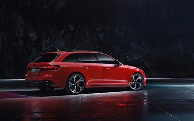 2020 Audi RS4 Avant wallpaper thumbnail.