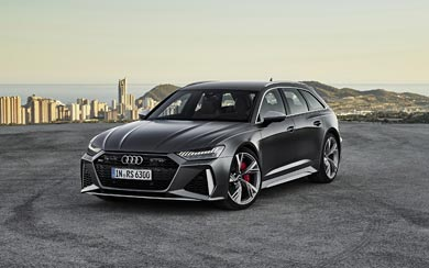 2020 Audi RS6 Avant wallpaper thumbnail.