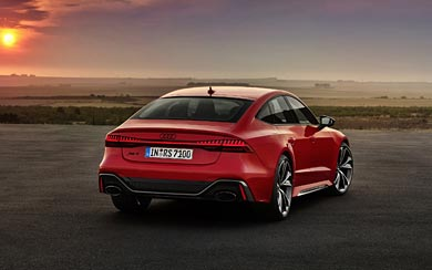 2020 Audi RS7 Sportback wallpaper thumbnail.