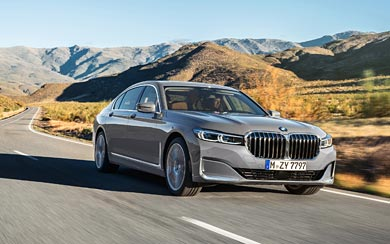2020 BMW 7-Series wallpaper thumbnail.