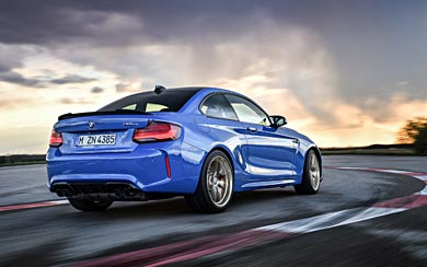 2020 BMW M2 CS wallpaper thumbnail.