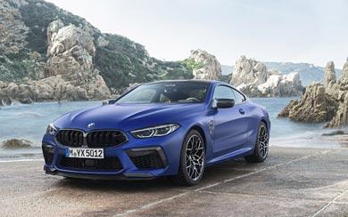 2020 BMW M8 Competition wallpaper thumbnail.