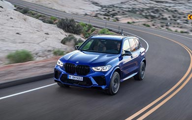 2020 BMW X5 M Competition wallpaper thumbnail.
