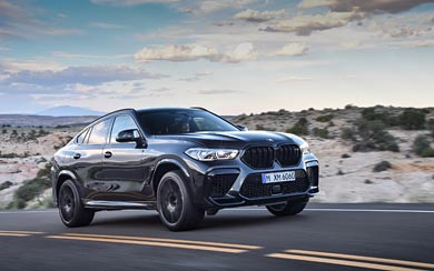 2020 BMW X6 M Competition wallpaper thumbnail.