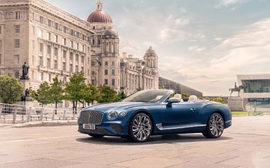 2020 Bentley Continental GT Mulliner wallpaper thumbnail.