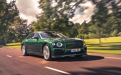 2020 Bentley Flying Spur wallpaper thumbnail.