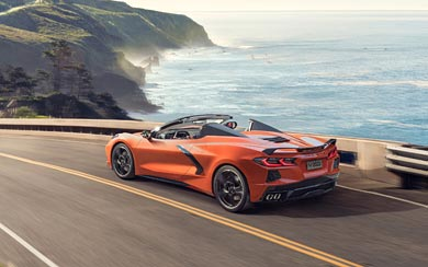 2020 Chevrolet Corvette Stingray Convertible wallpaper thumbnail.