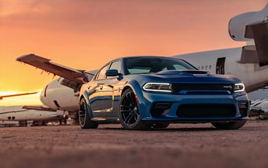 2020 Dodge Charger SRT Hellcat Widebody wallpaper thumbnail.