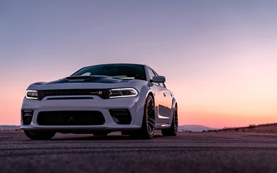 2020 Dodge Charger Scat Pack Widebody wallpaper thumbnail.