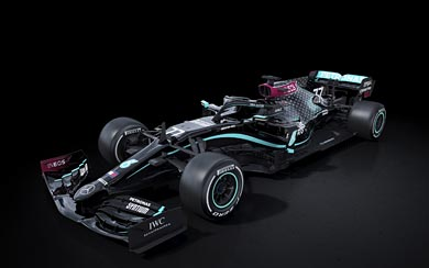 2020 Mercedes AMG W11 EQ Performance wallpaper thumbnail.