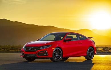 2020 Honda Civic Si wallpaper thumbnail.