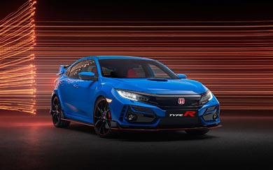 2020 Honda Civic Type R wallpaper thumbnail.