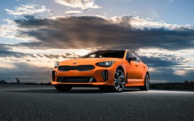2020 Kia Stinger GTS wallpaper thumbnail.