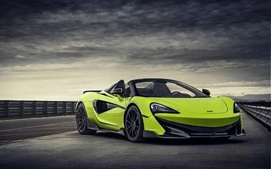 2020 McLaren 600LT Spider wallpaper thumbnail.