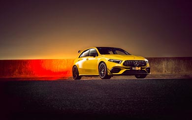 2020 Mercedes-AMG A45 wallpaper thumbnail.