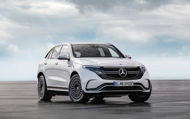2020 Mercedes-Benz EQC wallpaper thumbnail.