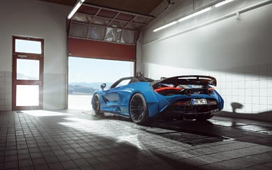 2020 Novitec McLaren 720S Spider N-Largo wallpaper thumbnail.