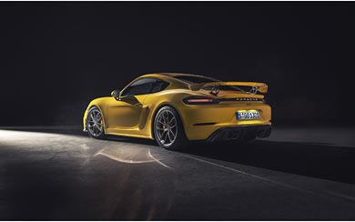 2020 Porsche 718 Cayman GT4 wallpaper thumbnail.