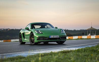 2020 Porsche 718 Cayman GTS 4.0 wallpaper thumbnail.