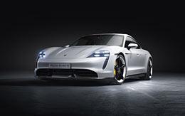 2020 Porsche Taycan Turbo wallpaper thumbnail.
