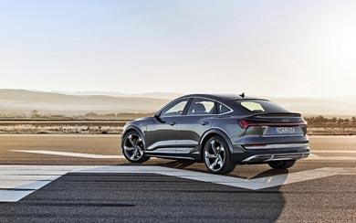 2021 Audi E-Tron S Sportback wallpaper thumbnail.
