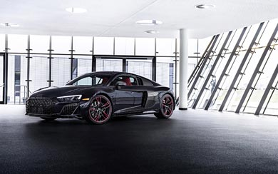 2021 Audi R8 RWD Panther Edition wallpaper thumbnail.