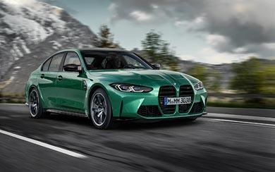 2021 BMW M3 Competition wallpaper thumbnail.
