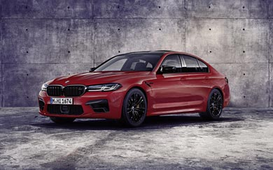 2021 BMW M5 Competition wallpaper thumbnail.