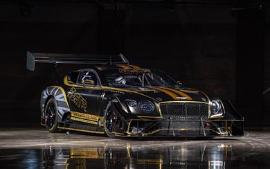 2021 Bentley Continental GT3 Pikes Peak wallpaper thumbnail.