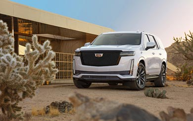 2021 Cadillac Escalade wallpaper thumbnail.