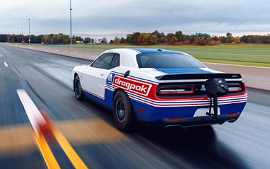 2021 Dodge Challenger Mopar Drag Pak wallpaper thumbnail.