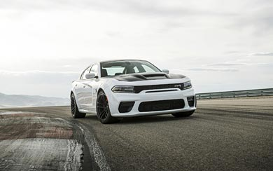 2021 Dodge Charger SRT Hellcat Redeye wallpaper thumbnail.
