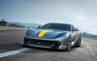 2021 Ferrari 812 Competizione wallpaper thumbnail.