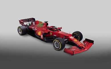 2021 Ferrari SF21 wallpaper thumbnail.