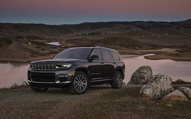 2021 Jeep Grand Cherokee L wallpaper thumbnail.