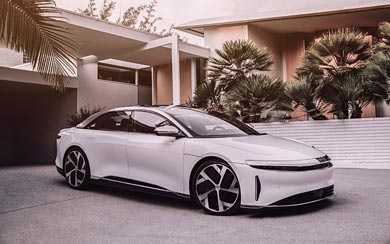 2021 Lucid Air wallpaper thumbnail.
