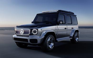2021 Mercedes-Benz EQG Concept wallpaper thumbnail.