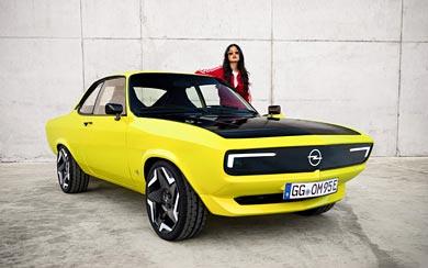 2021 Opel Manta GSe ElektroMOD wallpaper thumbnail.