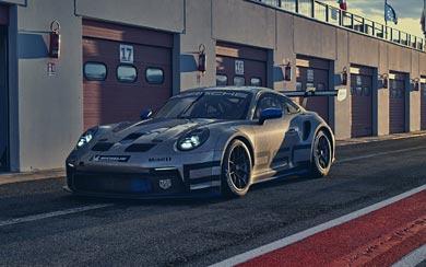 2021 Porsche 911 GT3 Cup wallpaper thumbnail.