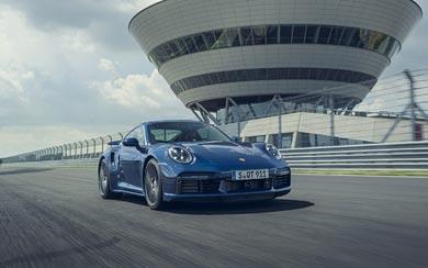 2021 Porsche 911 Turbo wallpaper thumbnail.